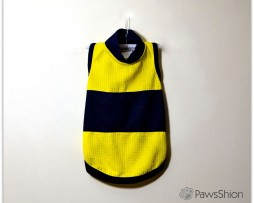 blue-yellow playshirt