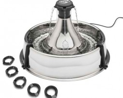 Drinkwell Stainless Steel 360 Fountain